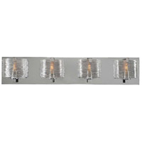 Kalco 313734CH South Bay 4 Light 26 inch Chrome Vanity Light Wall Light