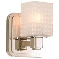 Kalco 313931PN Avanti LED 5 inch Polished Nickel Bath Vanity Wall Light