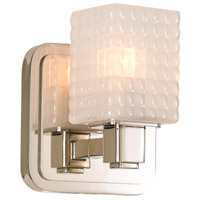 Kalco 313931PN Avanti LED 5 inch Polished Nickel Vanity Light Wall Light