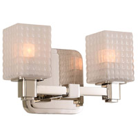 Avanti LED 10 inch Polished Nickel Vanity Light Wall Light