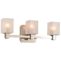 Avanti LED 17 inch Polished Nickel Vanity Light Wall Light