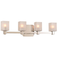 Kalco 313934PN Avanti LED 24 inch Polished Nickel Vanity Light Wall Light