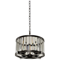 Kalco 314252SB Essex 4 Light 16 inch Sienna Bronze Pendant Ceiling Light