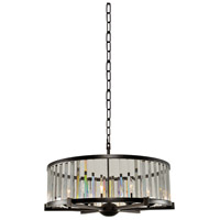 Kalco 314253SB Essex 6 Light 26 inch Sienna Bronze Pendant Ceiling Light