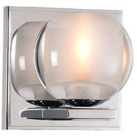 Chrome Glass Corona Bathroom Vanity Lights