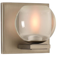 Corona LED 5 inch Satin Nickel Vanity Light Wall Light