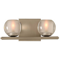 Kalco 315032SN Corona LED 12 inch Satin Nickel Vanity Light Wall Light