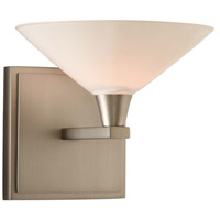 Galvaston LED 7 inch Satin Nickel Vanity Light Wall Light