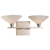 Galvaston LED 15 inch Polished Nickel Vanity Light Wall Light