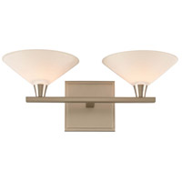Kalco 315132SN Galvaston LED 15 inch Satin Nickel Vanity Light Wall Light