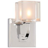 Kalco 315231CH Arcata LED 5 inch Chrome Bath Vanity Wall Light