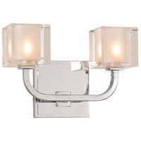 Kalco 315232CH Arcata LED 10 inch Chrome Bath Vanity Wall Light