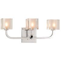 Kalco 315233CH Arcata LED 17 inch Chrome Bath Vanity Wall Light