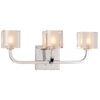 Kalco 315233CH Arcata LED 17 inch Chrome Vanity Light Wall Light