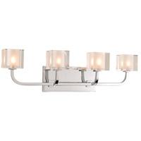 Kalco 315234CH Arcata LED 24 inch Chrome Bath Vanity Wall Light