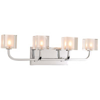 Arcata LED 24 inch Chrome Vanity Light Wall Light
