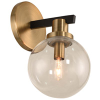 Matte Brass Wall Sconces