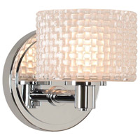 Kalco 315531CH Willow LED 5 inch Chrome Bath Vanity Wall Light