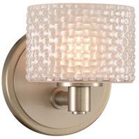 Kalco 315531SN Willow LED 5 inch Satin Nickel Bath Vanity Wall Light
