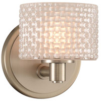 Satin Nickel Willow Bathroom Vanity Lights