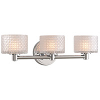 Kalco 315533CH Willow LED 19 inch Chrome Bath Vanity Wall Light