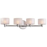 Kalco 315534CH Willow LED 26 inch Chrome Vanity Light Wall Light