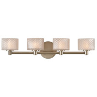 Kalco 315534SN Willow LED 26 inch Satin Nickel Bath Vanity Wall Light