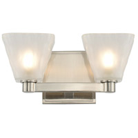 Kalco 316332GN Weston LED 5 inch Glazed Nickel Vanity Light Wall Light