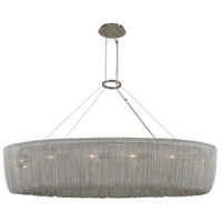 Kalco 316960PN Genevieve 12 Light 42 inch Polished Nickel Island Ceiling Light