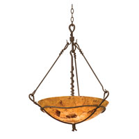 Kalco Vine 3 Light Pendant in Bark 3491BA/PS102