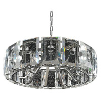 Kalco Lighting Giada 8 Light Pendant in Stainless Steel 390452SL