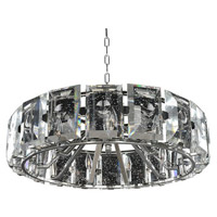 Kalco Lighting Giada 9 Light Pendant in Stainless Steel 390454SL