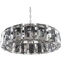 Kalco 390454SL Giada 9 Light 30 inch Stainless Steel Pendant Ceiling Light