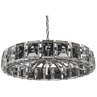 Kalco 390456SL Giada 18 Light 39 inch Stainless Steel Pendant Ceiling Light
