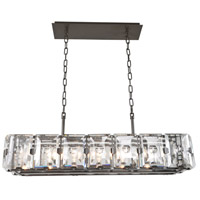 Giada 7 Light 37 inch Dark Bronze Island Light Ceiling Light
