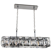 Stainless Steel Crystal Island Lights