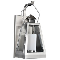Kalco 400520SL Revere Outdoor 1 Light 7 inch Stainless Steel Wall Sconce Wall Light