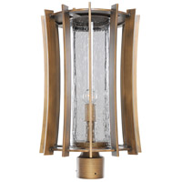 Ronan 1 Light 20 inch Modern Bronze Post/Pier Mount