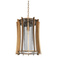 Kalco 400650MZ Ronan 1 Light 9 inch Modern Bronze Hanging Lantern Ceiling Light
