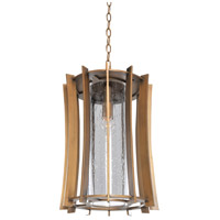 Kalco Lighting Ronan 1 Light Hanging Lantern in Modern Bronze 400651MZ