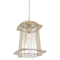 Kalco Lighting Shelby 1 Light Hanging Lantern in Tarnished Silver 401851TS