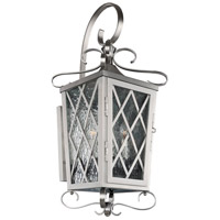 Kalco 402222SL Trellis 4 Light 12 inch Brushed Stainless Steel Wall Bracket Wall Light