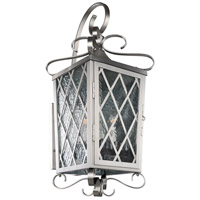 Kalco 402223SL Trellis 4 Light 14 inch Brushed Stainless Steel Wall Bracket Wall Light