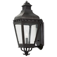 Kalco 403321AI Winchester Outdoor 1 Light 8 inch Aged Iron Wall Sconce Wall Light