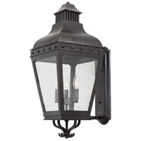 Kalco 403323AI Winchester 3 Light 30 inch Aged Iron Outdoor Wall Sconce