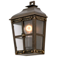 Kalco 403420AGB Sherwood 1 Light 13 inch Aged Bronze Outdoor Wall Pocket