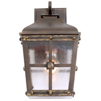 Kalco 403421AGB Sherwood Outdoor 1 Light 8 inch Aged Bronze Wall Sconce Wall Light