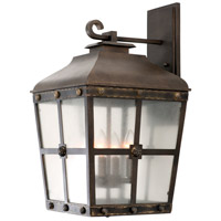 Kalco 403423AGB Sherwood Outdoor 4 Light 13 inch Aged Bronze Wall Sconce Wall Light