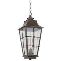 Kalco 403551AGB Belle Grove 4 Light 11 inch Aged Bronze Pendant Ceiling Light