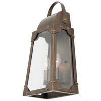 Aged Bronze Aluminum Wall Sconces
